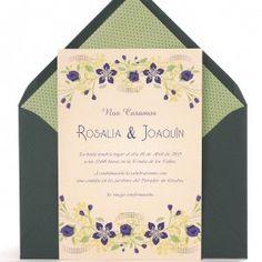 Invitación de boda Santorini