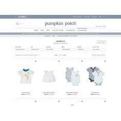 Save Up to 50% Off on New Born Baby Products Clearance @ Pumpkin Patch New…