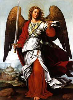 Who is my Guardian Angel? Padre, messenger of the Angels, reveals the name of your Guardian Angel thanks to his gifts as a psychic. Quickly discover his free angelical reading! Angels Among Us, Angels And Demons, Catholic Art, Religious Art, Saint Gabriel, Creation Art, Archangel Raphael, Raphael Angel, I Believe In Angels