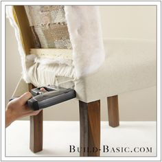 How To Re-Cover a Dining Chair Part 1 by Build Basic - Step 11