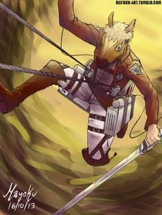 attack on titan jean - Buscar con Google