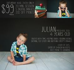 chalkboard mini sessions - sweet pickle pictures