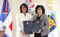 Armario de Noticias: Despacho Primera Dama y UNICARIBE firman acuerdo