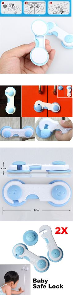 Child Protection Kid Baby Safety Multifunctional Safe Security Drawer Cabinet Fridge Door Latch Lock Products