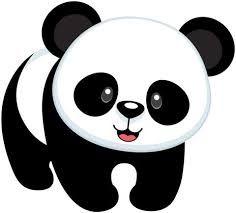 Image result for plantilla oso panda