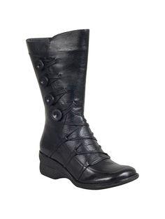 Miz Mooz Olsen Leather Wedge Boot | Official Site