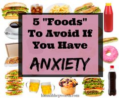 """5 """"Foods"""" To Avoid If You Have Anxiety 
