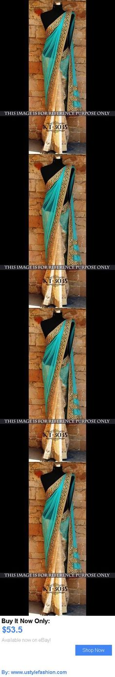 Cultural and ethnic clothing: Designer Party Wear Wedding Indian Pakistani Saree Sari Bollywood Ethnic Lehenga BUY IT NOW ONLY: $53.5 #ustylefashionCulturalandethnicclothing OR #ustylefashion