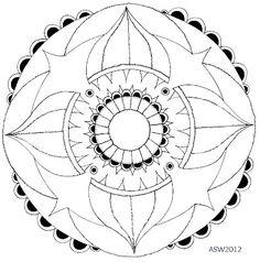 Kai-Zen Doodles: Mandalas and Zendalas