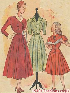 1940s fashions,  New Look influence