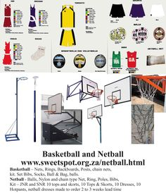 Sweetspot is a sports equipment supplier that supplies a large range of sports. Basketball Nets, Netball Dresses, Lead Time, Skorts, Sports Equipment, Bibs, 3 Weeks, Type, Chain