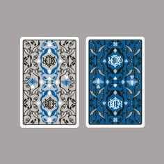 Jeu de cartes dessiné par Michaël Cailloux en hommage à Christian Dior à découvrir à la boutique Dior, 160-162 New Bond street, Londres. #cartes #deckofcards #dior #christiandior #michaelcailloux #diorhome