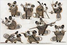Concept art for Kung Fu Panda