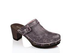 SOFTCLOX Hetty crack schwarz #summer #spring #softclox #munich #shoes #clogs #summershoes #springshoes #woddensole #darksole