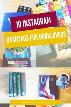 10 instargam hashtags for booklovers