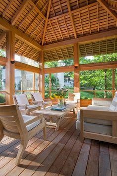 Red Hook Pool House - Transitional - Deck - New York - Demetriades + Walker