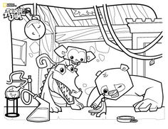 Image result for animal jam coloring pages peck sabrina birthday