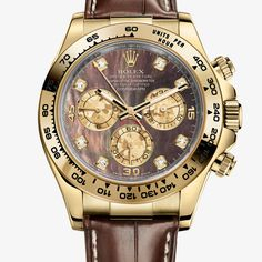 The Watch Quote: The Watch Quote: List Price and tariff for Rolex - Professional Collection - Cosmograph Daytona - Cadran nacre noire - 116518-0073 watch