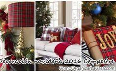 Decoración navideña 2016 estilo campestre – Country christmas