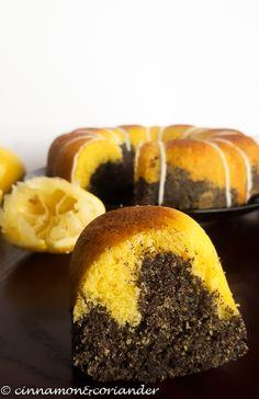 Moist Lemon Poppy Seed Cake – a German Cake Recipe
