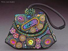 Sherri Serafini, Artist, Handbag Art, Photo: Larry Sanders