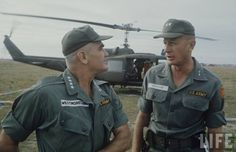 General Westmoreland with Major General Frederick C. Weyand, CO 25th Infantry Division, January 1966-March 1967