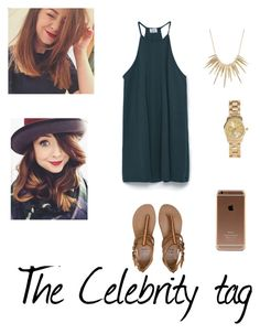 """""""The celebrity tag : zoella"""" by tumblrnikki ❤ liked on Polyvore featuring Zara, Billabong, Alexis Bittar and H&M"""
