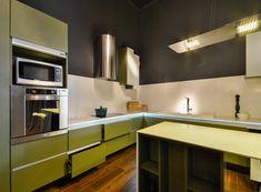 Masisa Verde Oliva - Masisa placa para cocina