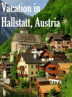 vacation in Hallstatt, Austria
