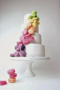 Macaron Taart