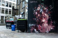 """Borondo's """"Looking For...."""" Mural in London"""