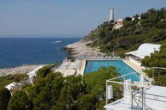 iconic pool at the Grand Hotel du Cap Ferrat  grand-hotel-cap-ferrat.com