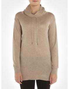 Chandail long / Cowl neck long sweater www.jacob.ca