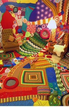 knittedroom by Sarah Applebaum