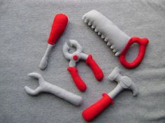 Plush Tool Set for Kids, $23