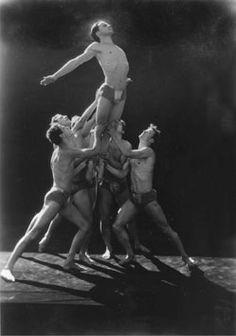 Gods and Foolish Grandeur: Polonaise, Ted Shawn's Men Dancers, 1933 Orry Kelly, Nickolas Muray, Elsie De Wolfe, Athletic Models, Luchino Visconti, Pin Up, Alfred Stevens, Jeanette Macdonald, Grand Duchess Olga