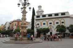Spain, Sevilla, Plaza del Triunfo