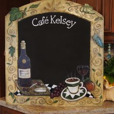 Unique Chalk Boards for Kitchen | ZeeZee Chalkboards * Classy Custom Chalkboards for Home and Business