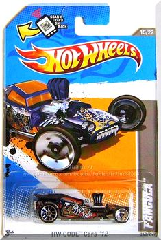 109aaaa99de8 Hot Wheels - Fangula  HW CODE Cars  12  15 22 -  240 247  Dark Blue Edition