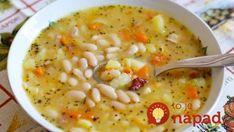 Fazuľová polievka ako od babičky s úžasne lahodnou chuťou! Fall Dinner Recipes, Fall Recipes, Soup Recipes, Vegan Recipes, Cooking Recipes, Jacque Pepin, Quick Recipes, Clean Eating, Food And Drink