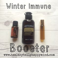 Instagram media healthybellyhappymind - Tip of the week: Boost your immune system with the lovely On Guard blend which is a mix of wild orange, clove, cinnamon, eucalyptus and rosemary. This is doTerra's protective blend and it smells devine... A great tip is to put 10drops in a 10ml roller bottle and then fill with fractionated coconut oil. Shake and rub on the soles of your feet  then cover with socks each night... Such a great way to support your family's health. I love this blend so much…