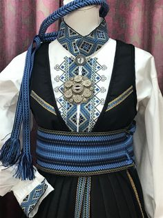 Norwegian Clothing, European Clothing, Folk Costume, Costumes, Ethnic Design, History Facts, Unique Dresses, Aesthetic Clothes, Traditional Outfits