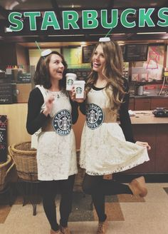 Cute Halloween costume idea for best friends! #basic #typical