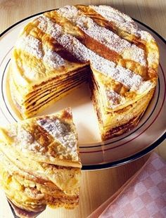 Hungarian Desserts, Torte Recipe, Sweet Desserts, Apple Pie, Fudge, Breakfast Recipes, Pancakes, French Toast, Food And Drink