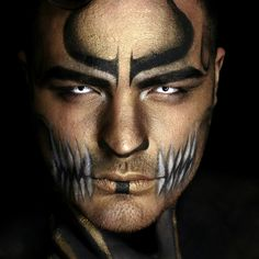 Anubis Inspired Makeup by IG:alexfaction