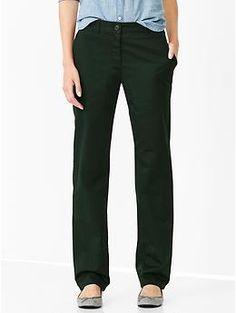 Straight khakis - Cambridge Green
