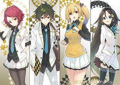 Kyoto Animation Reveals 'Myriad Colors Phantom World' Light Novel Promos Anime Girl Drawings, Anime Art Girl, Anime Girls, Kawaii Cute, Kawaii Anime, Musaigen No Phantom World, Magic Knight Rayearth, Haruhi Suzumiya, World Wallpaper
