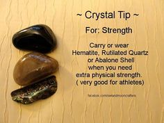 Crystal tip for strength