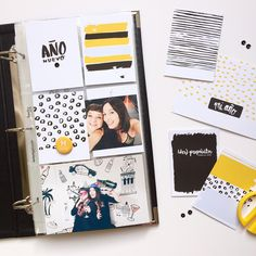 Feliz domingo /// This week on martualterada Shop ( in spanish & catalan) more details soon Have a happy sunday! Project Life 6x8, Project Life Layouts, Project Life Cards, Diy Scrapbook, Scrapbooking, Life Page, Journal Cards, Life Inspiration, Travelers Notebook
