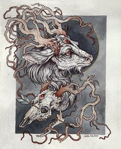 Stag Commission 2014 by Caitlin Hackett